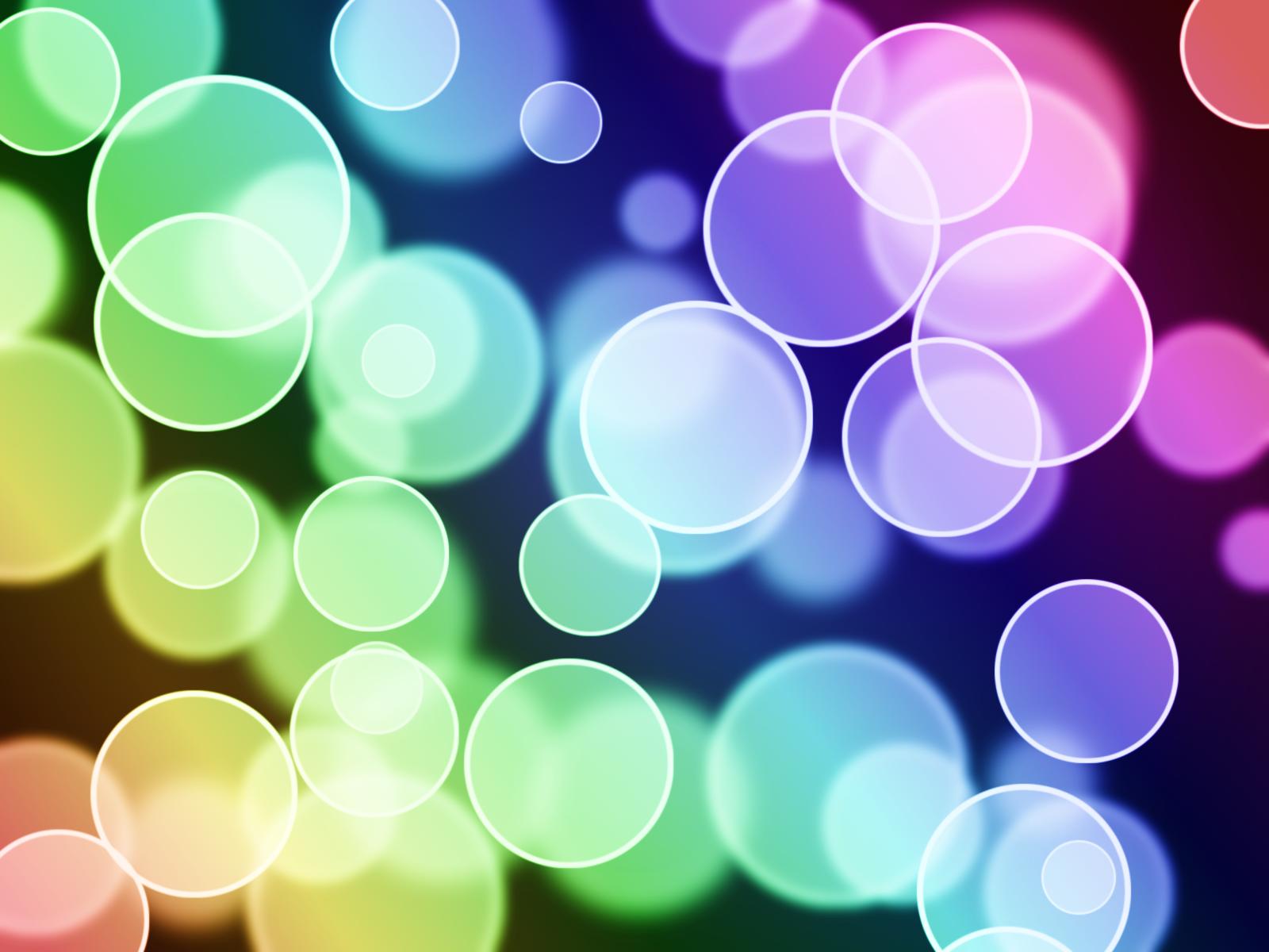 Rainbow Circles Wallpaper Circles Wallpaper Made by